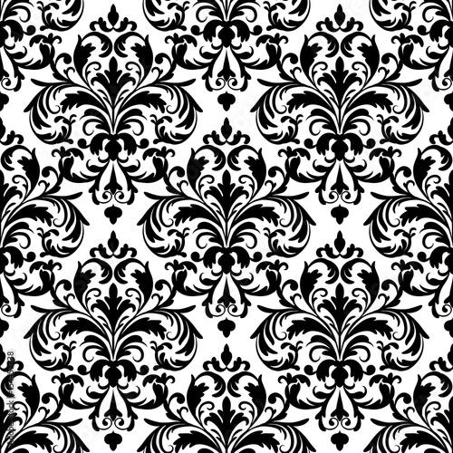 czarno-bialy-wzor-tapety-bez-szwu