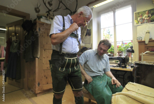 Tradtional Leather Trousers Manufacturer Christian Raich Talks To A