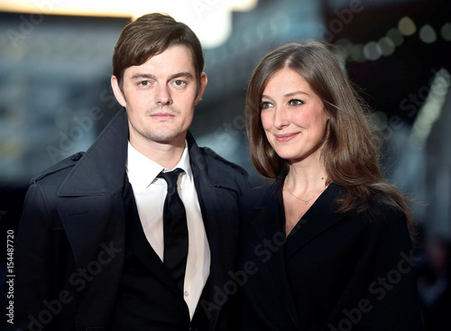 Sam Riley Poses With Alexandra Maria Lara As They Arrive For The