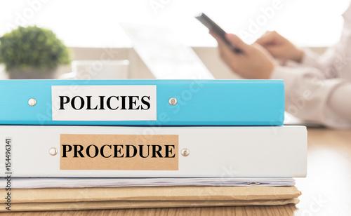 Valokuva  policies procedure