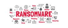Ransomware Vector Banner