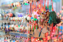 Night Market At ChiangMai In Thailand