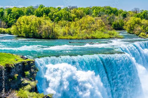 Tuinposter Watervallen Niagara Falls waterfall