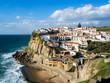 Azenhas do Mar, a beautiful coastal town in the municipality of Sintra, Portugal