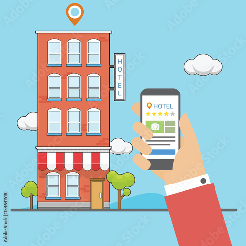 Check hotel rating with application in the cellphone - Buy this