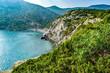 In Mountain and Trail Golitsyn in Novy Svet, Crimea