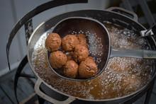 Deep Fried Hushpuppies Over Ho...