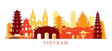 Vietnam Architecture Landmarks Skyline, Shape