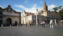 Piazza Del Popolo, Porta Del P...