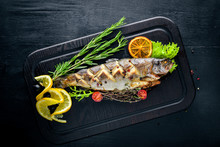 Trout Fish Baked With Aromatic...