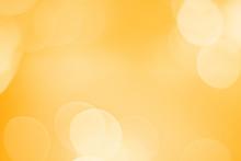 Yellow Wallpaper And Bokah