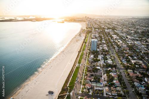 Staande foto Los Angeles Los Angeles coastline