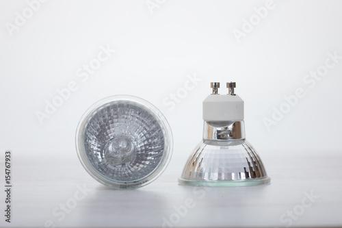 Obraz Two low voltage halogen lamps - fototapety do salonu