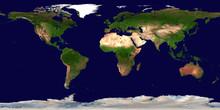 High Resolution Earth Continen...