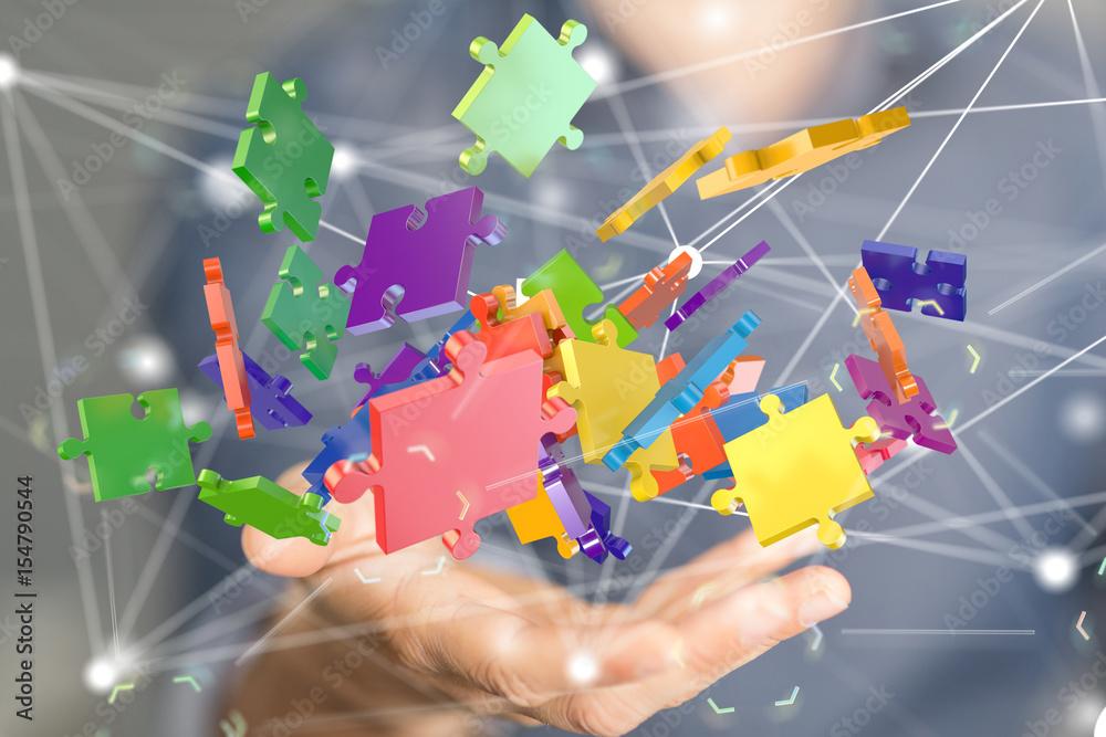 Fototapety, obrazy: puzzle