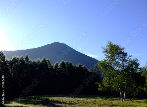 In de dag Afrika 男体山