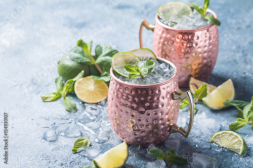 Photo  Moscow mule cocktail