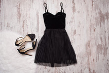 Little Black Dress And Black S...