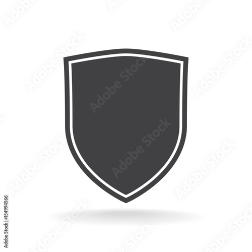 Shield Icon Tablou Canvas