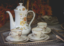 Teapot With Cup. Luxuary Teapo...