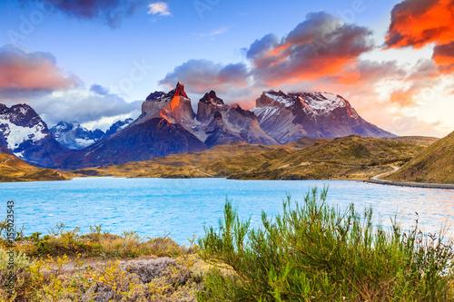 Torres Del Paine National Park, Chile Fototapet