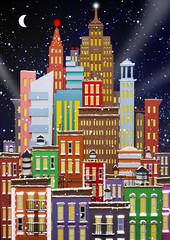 Obraz Illustration of New York City