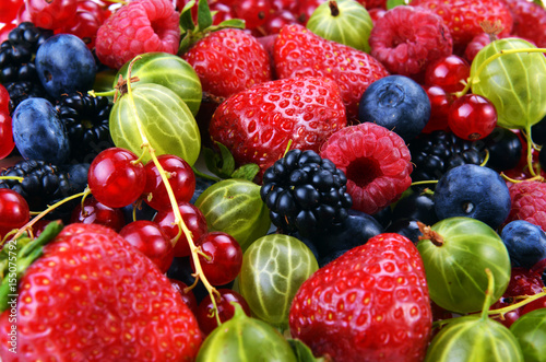 different-fresh-berries
