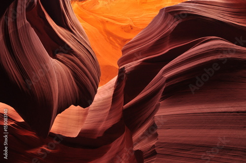Foto op Canvas Antilope Slot Canyon