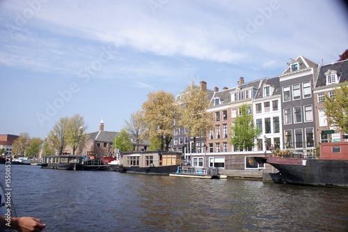 Poster Amsterdam european architecture