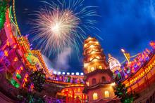 Kek Lok Si Temple Light Up Wit...