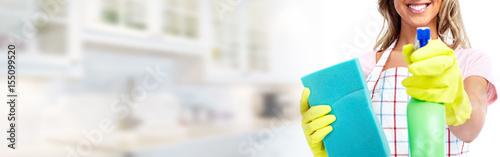 House cleaning Fototapeta