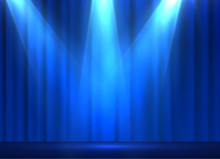 Curtains Vector Background. EP...