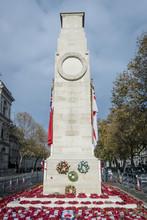 Cenotaph War Memorial, London, UK