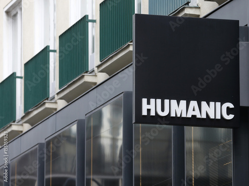 The logo of Austrian shoe trading chain Humanic is pictured at a shop in  Vienna 33fff2cc0c1