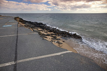 Beach Erosion At Cape Cod
