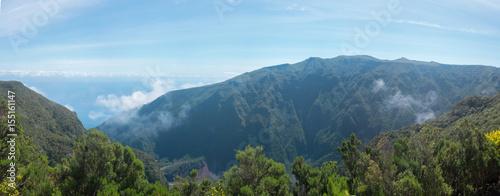 Fototapeta Rainforest hills,  Madeira island, Portugal obraz na płótnie
