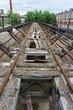 Abandoned Railroad Industrial Rusty Bridge