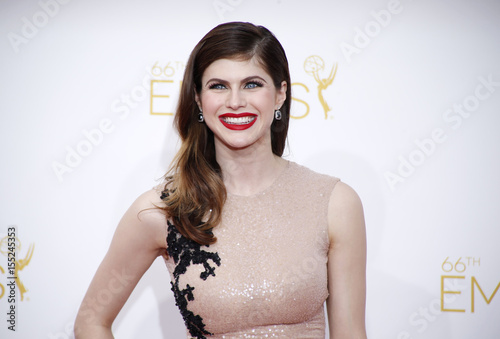 Alexandra Daddario From The Hbo Series True Detective Arrives At The 66th Primetime Emmy