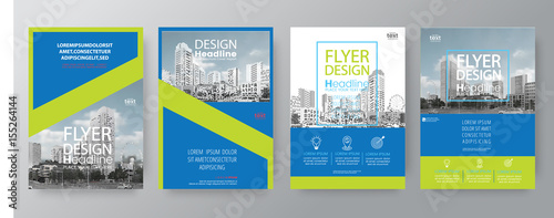 collection of poster flyer brochure cover layout design template  vector graphic Wallpaper Mural