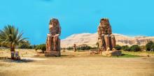 Egypt. Luxor. The Colossi Of M...