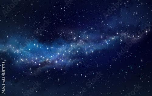 Obraz Star field in outer space - fototapety do salonu