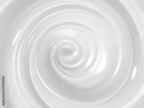 Carta da parati swirl cosmetic cream