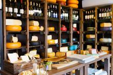 Cheese Shop Shelves, Large Ass...