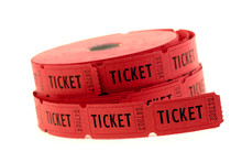 Tickets Used For Entrance Into An Event