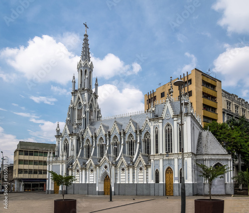 Photo Stands South America Country La Ermita Church - Cali, Colombia