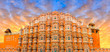 Leinwanddruck Bild - Hawa Mahal - Jaipur