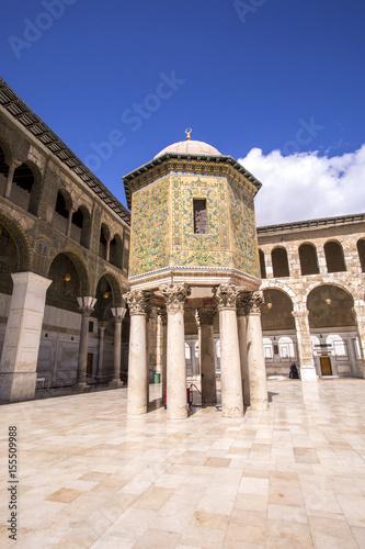 Fotografia, Obraz  la Grande Mosquée des Omeyyades, Damas Syrie