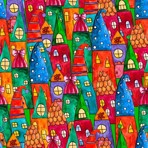 ilustracja-z-kolorowymi-domkami