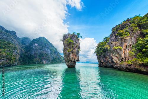 Plakat Tajlandia James Bond stone Island