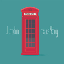 England, London Red Phone Boot...